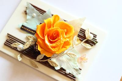 120%喜ばれるお花のオーダーメイドお花アレンジ