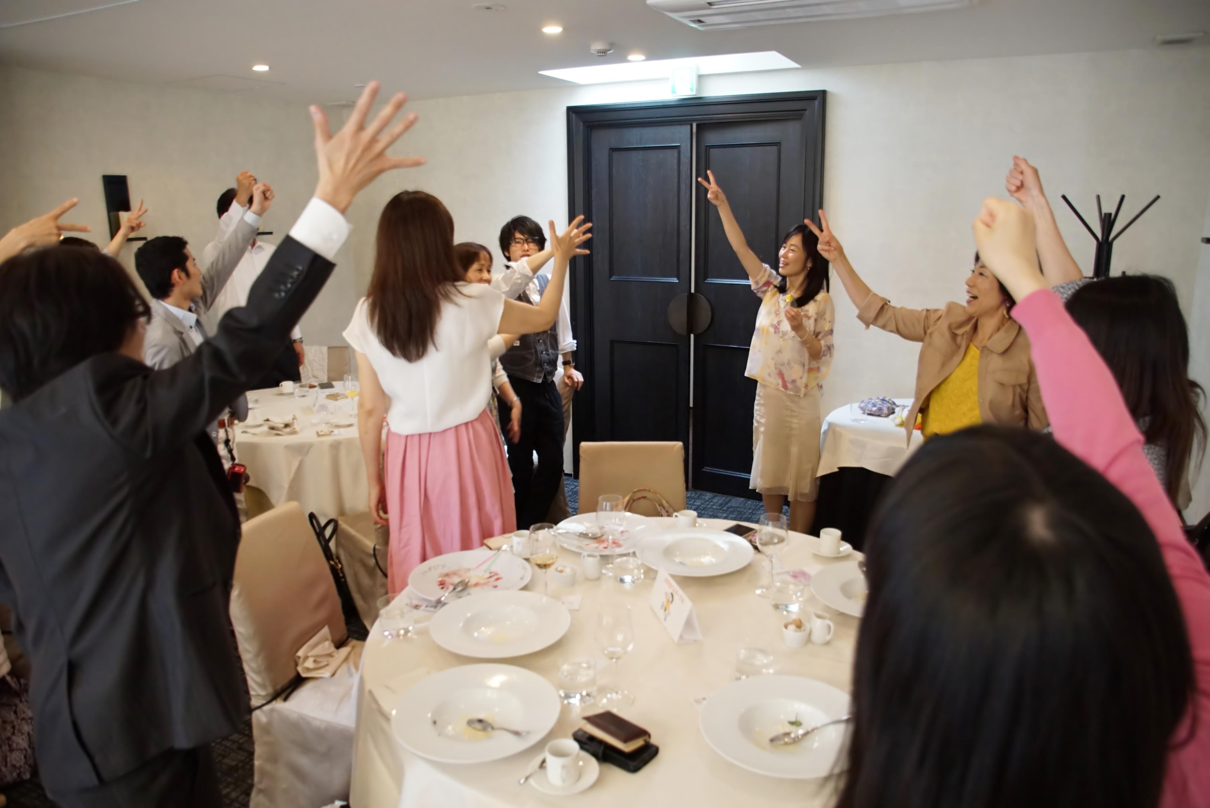 マツユカコ パワーシール コラボご縁会 ご宴会 森戸陽子
